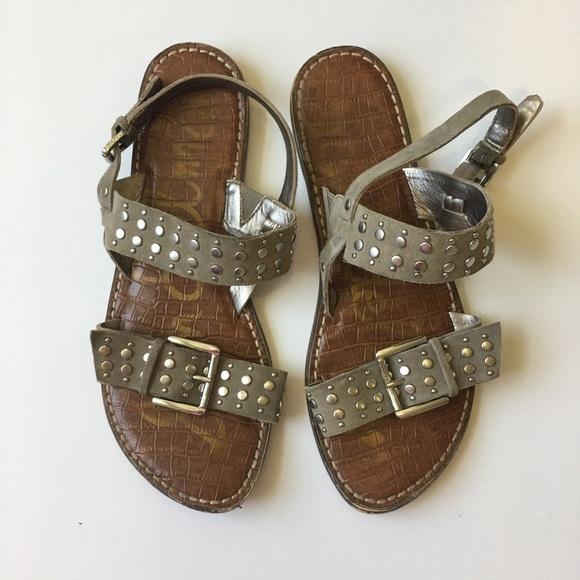 521df1a31 Sam Edelman studded Glade sandals size 9.5. M 5b1d8a1f951996049978d6ea